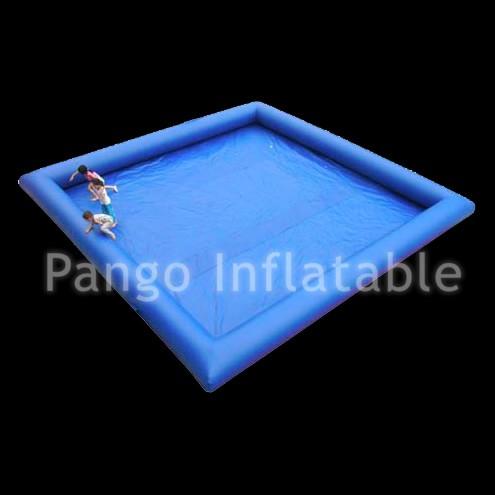 可移动蓝色方形泳池gp014
